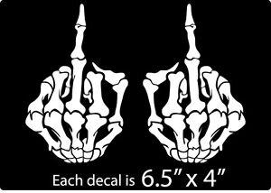 Skull Hand Decal Vinyl Graphic Sticker Eye Ripping Hood Body Car Window Truck Ebay