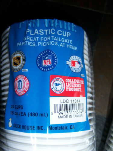 Tennessee Titans Reusable Plastic Cups x 2 = 48 Cups 24-16 oz