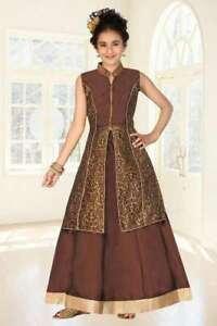 5fe86776a6d4 Image is loading Girls-Indian-Pakistani-Lehenga-Choli-ethnic-party-Wedding-