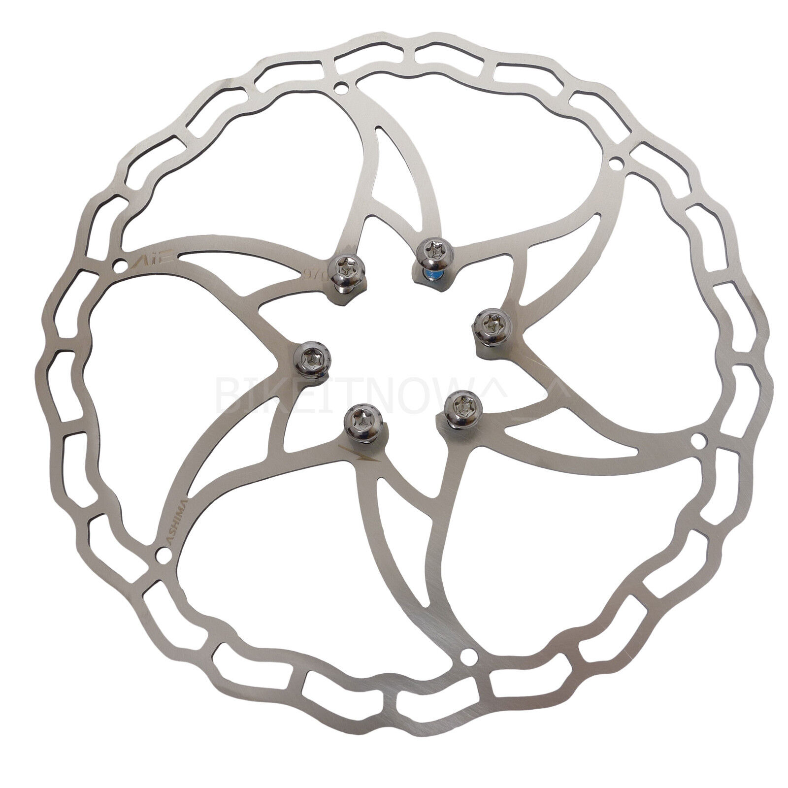 The Lightest ASHIMA Ai2 Bike Disc Brake Rotor 140//160//180mm 64//73//104g
