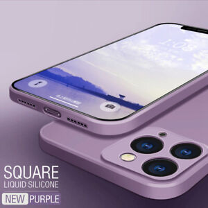Phone-Case-For-iPhone-11-Pro-Max-XS-XR-8-7-6S-Square-Liquid-Silicone-Soft-Cover