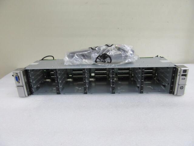 New HP 668311-001 687961-001 Proliant DL380e Gen8 25-Bay SFF SAS HDD Drive Cage