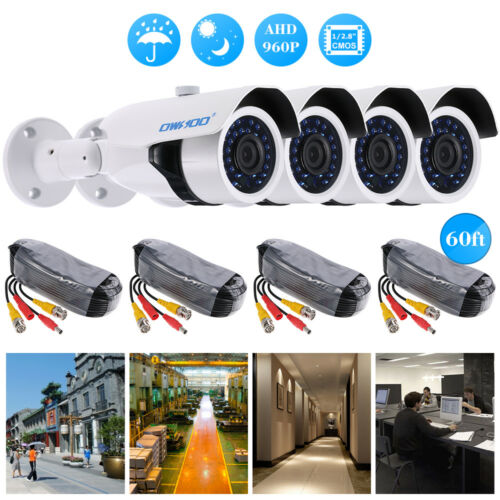 OWSOO 960P CCTV Camera Outdoor 30pcs IR LED Night Vision Home Security System US