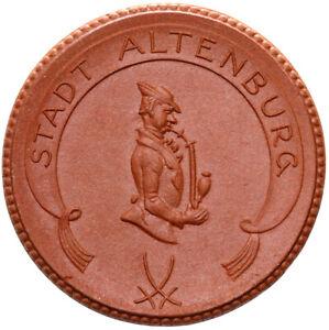 Altenburg-Muenze-3-Mark-1921-Meissen-Porzellan