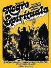 Album of Negro Spirituals by Edward B. Marks Music Company (Paperback / softback, 1984)