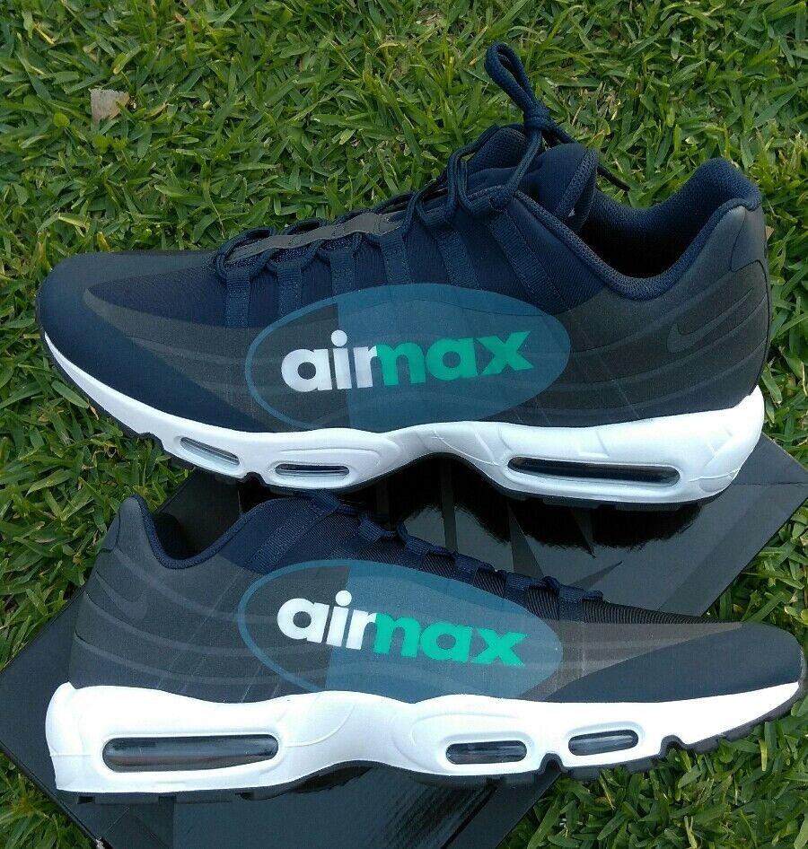 Nike Air Max 95 GPX  Bleu  Blanc   noir  aj7183 400 90 97 running casual classic