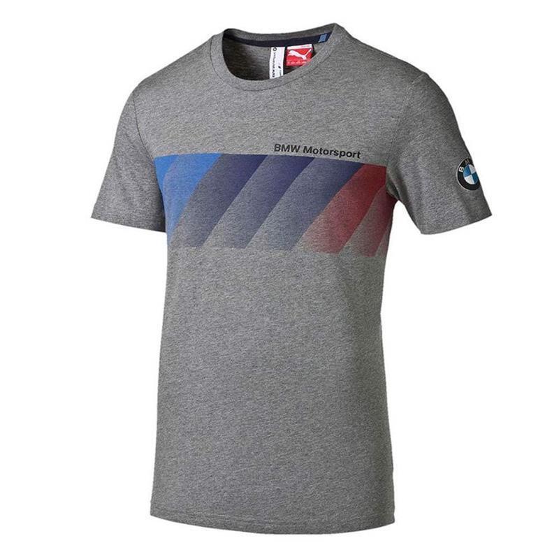 T-shirt Mann BMW MSP Graphic Abschlag medium grau Größe s