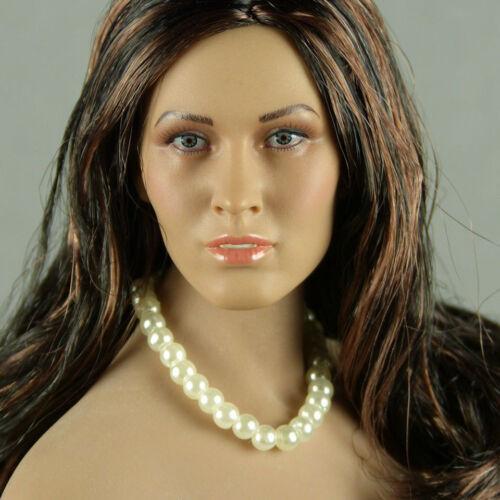 NT-Female Unique Perle Blanche Collier Hot Toys Échelle 1//6 phicen KUMIK