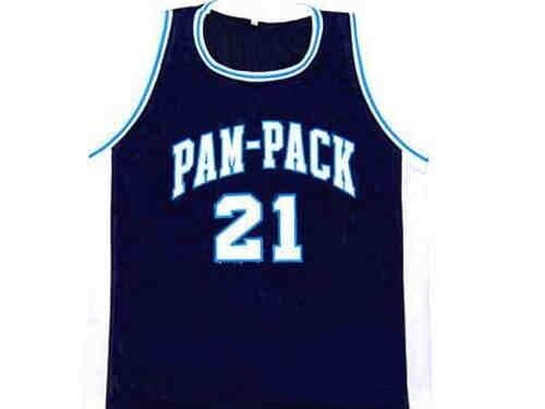 DOMINIQUE WILKINS PAM-PACK HIGH SCHOOL BASKETBALL JERSEY SEWN SEWN NEW ANY SIZE