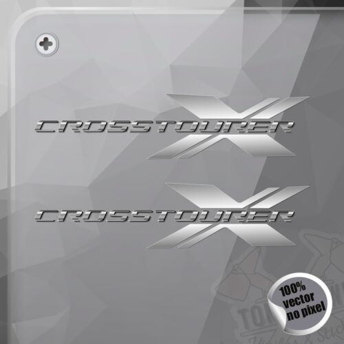 PEGATINA HONDA CROSSTOURER X DECAL VINYL STICKER AUTOCOLLANT