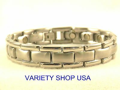 Researcher Stainless Steel Magnetic Bracelet