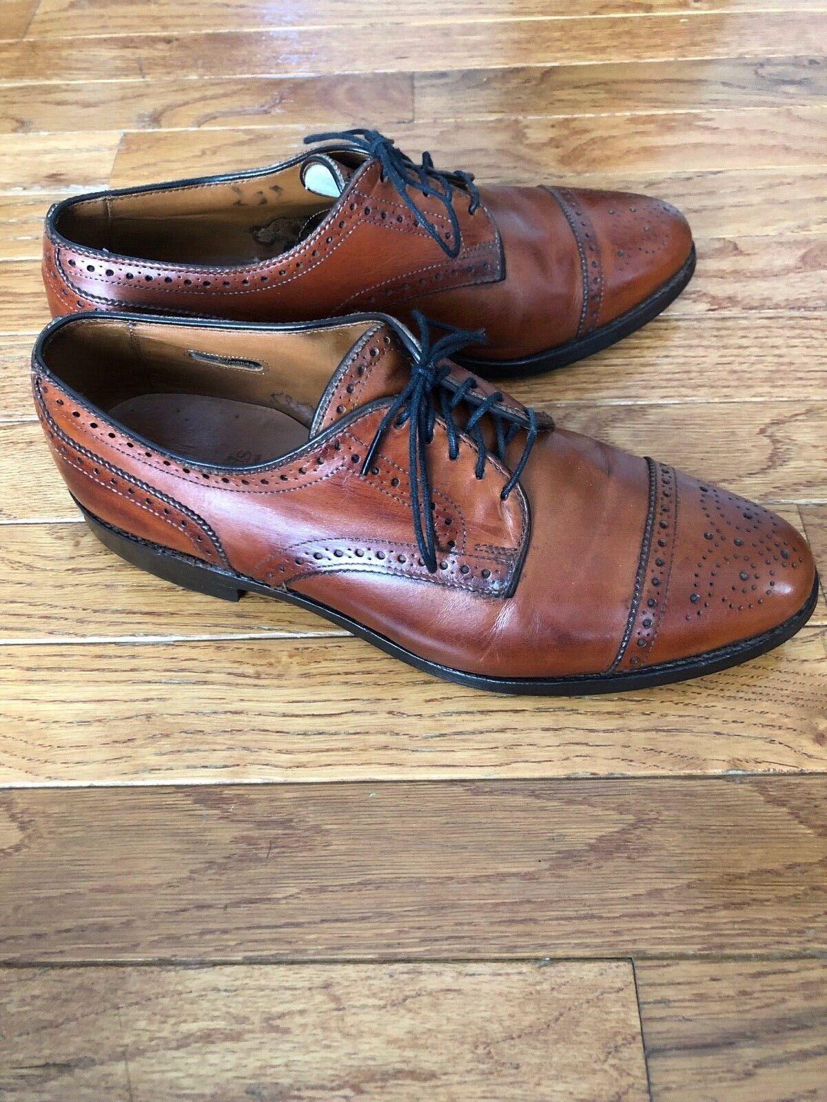Allen Edmonds Sanford Chestnut Brown Mens Shoe 8 … - image 5