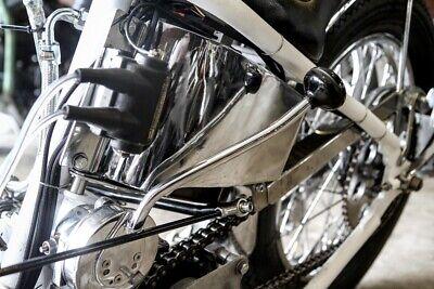 West Eagle H4023 Hand Jockey Suicide Shift Lever Round Type Custom Harley Choppe