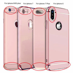 For-iPhone-X-6S-7-8-iPhone-8-Plus-Ultra-Thin-Hybrid-Slim-Hard-Case-Cover