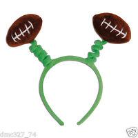 Football Tailgate Game Day Super Bowl Party Football Headband Head Bopper