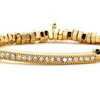 Park Lane serena Bracelet W/ Austrian Crystals & Gold - Orig. $78 - Nice