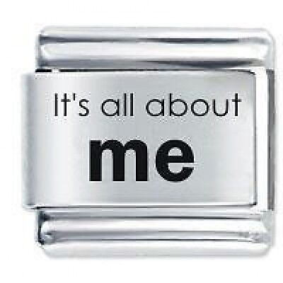 IT'S ALL ABOUT ME ! * Daisy Charm Fits Nomination Classic Italian Charm Bracelet