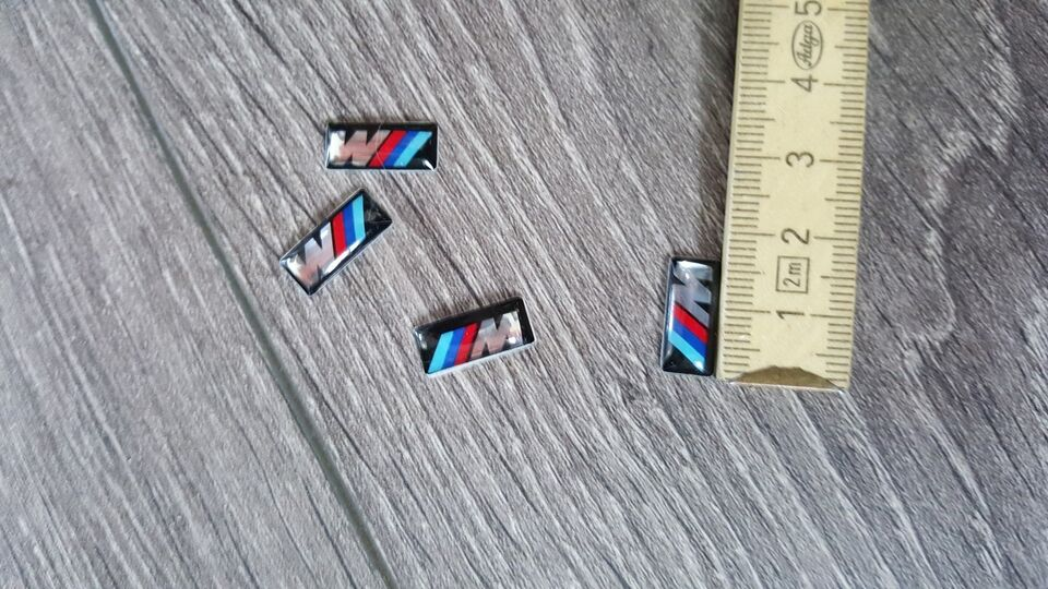 Andre reservedele, BMW M Technik M rat emblem, BMW M