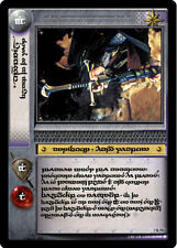 LOTR TCG 7R79 Tengwar Anduril Flame of the West Decipher Online Promo Card