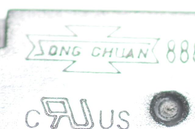 12 5v,12 A 2x Leistungs-Print-Relais from Song Chuan Type 888N-1CC-F-C E