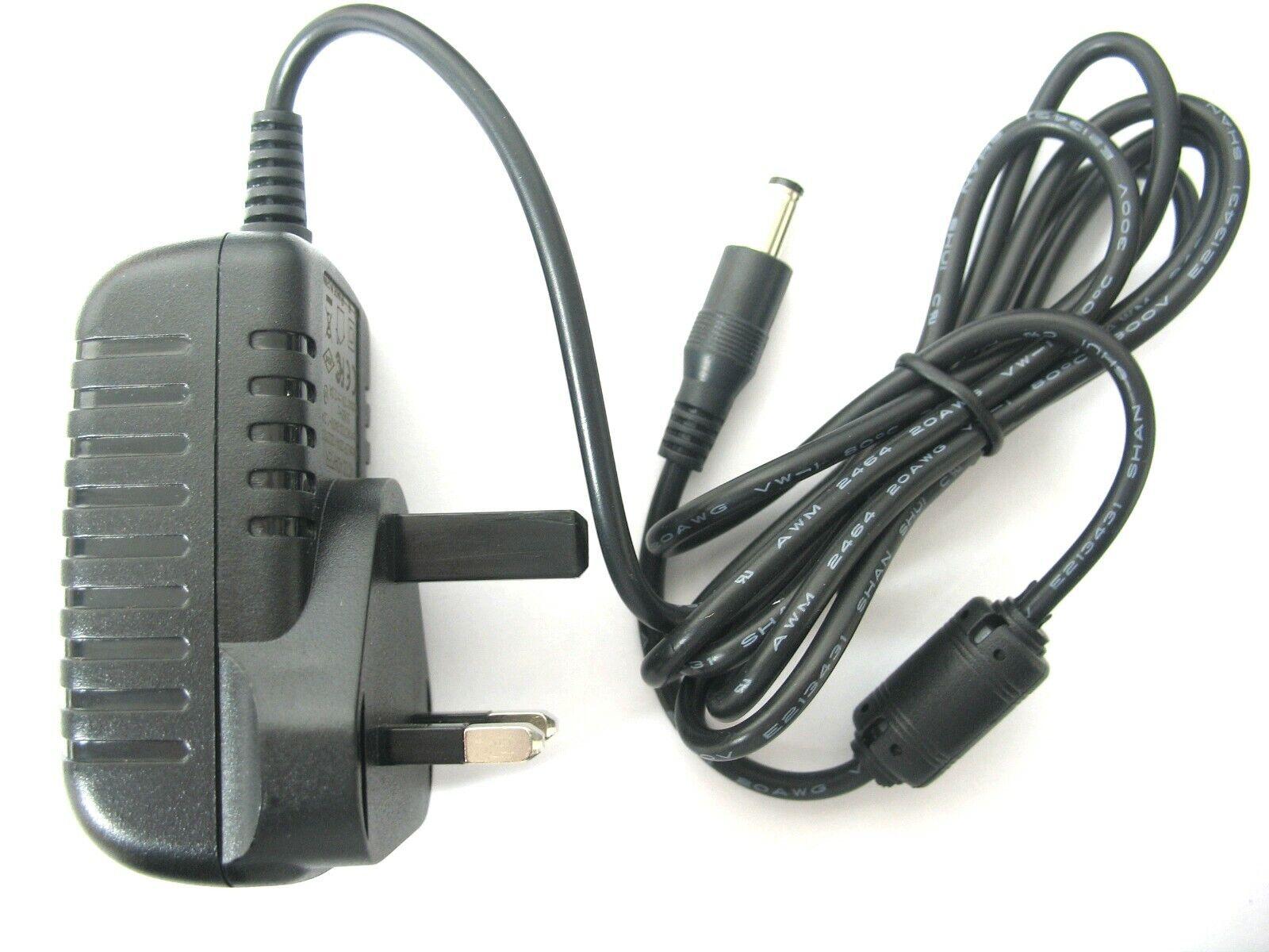 0.5 amp 19 volt AC-DC Mains Regulated Power Adaptor/Supply/Charger (9.5 watt)