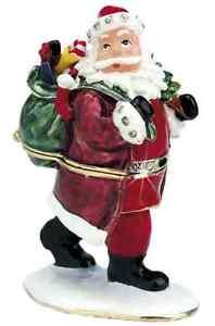 Craycombe-Trinkets-Father-Christmas-Pewter-Trinket-Box-8cm-6016-New