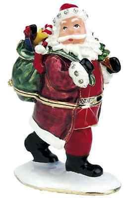 Sammeln & Seltenes Official Website Craycombe Schmuckkästchen Weihnachtsmann Zinn Schmuckkästchen 8cm 6016 Neu To Win A High Admiration