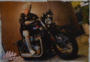 MIKE-SINGER-A3-Poster-ca-42-x-28-cm-Deja-Vu-Clippings-Fan-Sammlung-NEU