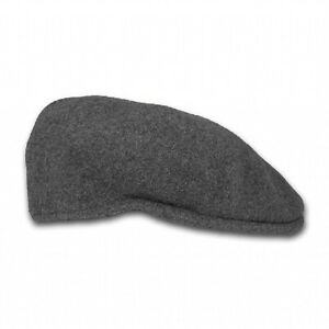 Brand New Grey Kangol 504 Flat Cap Kangol 504 Wool