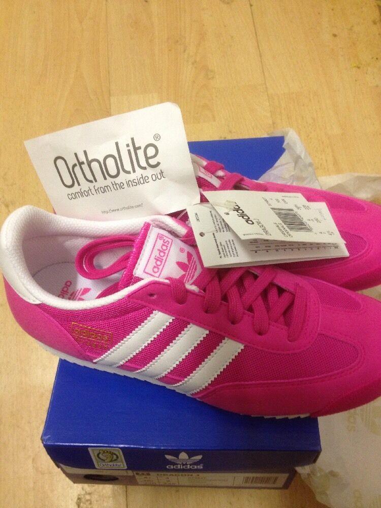 Adidas originali dimensioni 4 dimensione draghi nuovi originali di c in dimensione 4 4 con scatola rosa 267961