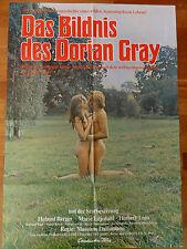 Kinoplakat DAS BILDNIS DES DORIAN GRAY Erotik Helmut Berger 1970