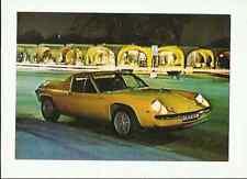 LOTUS EUROPA TWIN CAM SALES' BROCHURE'/SHEET  EARLY 70's