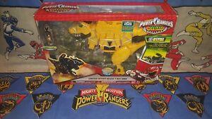 Power Rangers Dino Super Charge Édition limitée Deluxe Or T Rex Zord Nouveau 45557431549