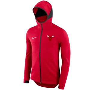 845b5b548634 CHICAGO BULLS Showtime Hoodie Nike NBA Dri-FIT Full-Zip Jacket Mens ...
