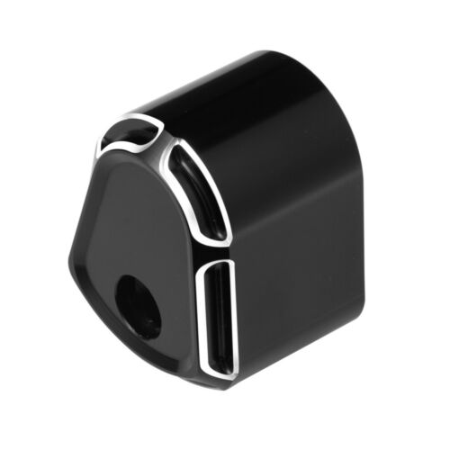 1PC Black CNC Cut Ignition Switch Cover For Harley Touring Street Road Glide US