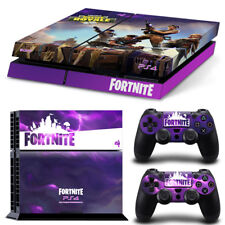 FORTNITE Playstation 4 PS4 Skin Wrap Sticker Decal CONSOLE + CONTROLLERS