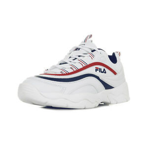 chaussure homme fila blanche