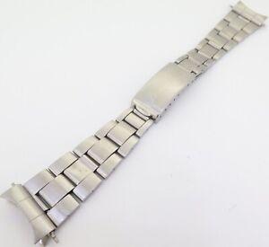 Vintage-1960s-Rolex-Steel-Folded-Link-19mm-7835-Bracelet-With-357-Ends