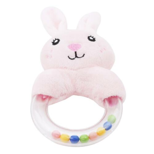 Baby Rattles Kids Plush Stuffed Educational Bell Toy For Children Gift LC