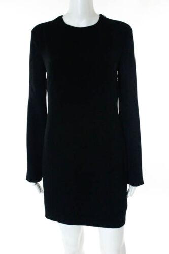 jurk nieuwe rug maat 115664 verschuiving lange Wang zwarte open 4660 Alexander mouw OkuwTPZiX