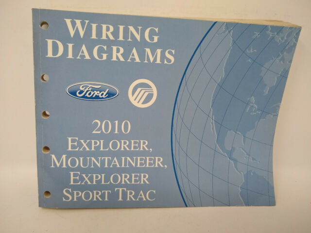 2010 Ford Oem Explorer Mountaineer Exp Sport Trac Wiring