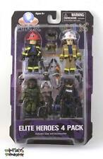 MAX Minimates Elite Heroes Box Set (Law Enforcement, Special Ops, Fire Chief)