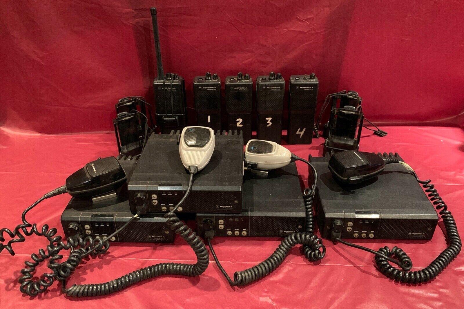 Lot of Motorola Radius GM300 M43GMC20D2AA 2-Way Radio & Radius P110 . Buy it now for 500.00