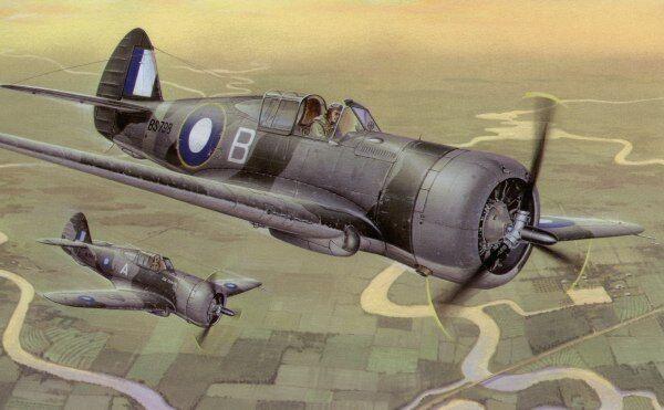 särskild hobby 1  32 Curtis H -75a -4  Mohawk Mk.IV