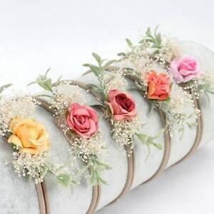 Baby-Nylon-Soft-Flower-Head-Wrap-Turban-Top-Headband-Newborn-Girl-Accessories