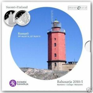 FINLANDE 2010 Serie 8 monnaies BU