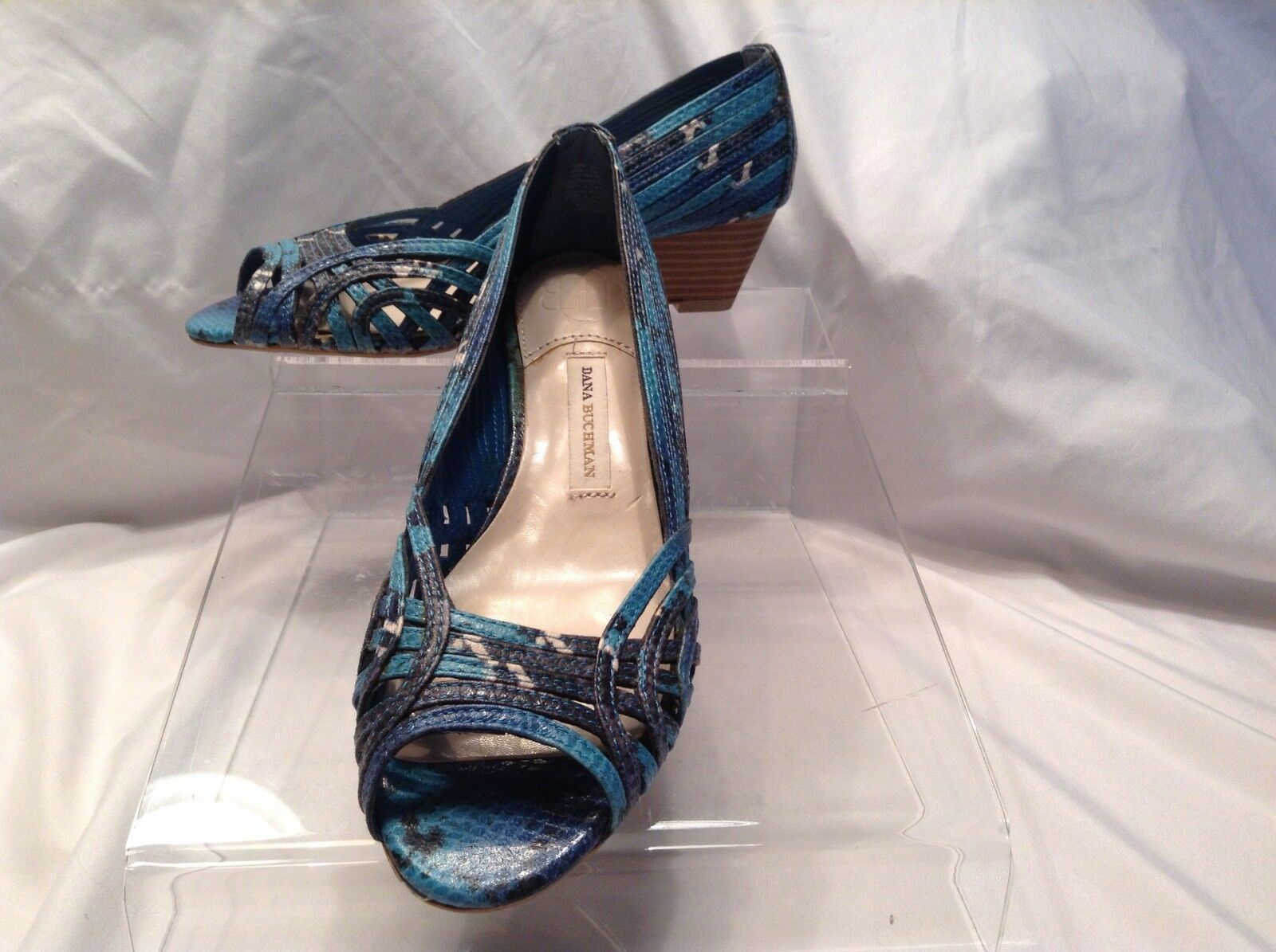 Dana Buchman ladies multi color synthetic 7 pep toe pumps in size 7 synthetic medium 92f5e0