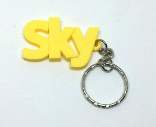 Henry Keyring DesignPersonalised choice of colours Chunky Name Bag Tag
