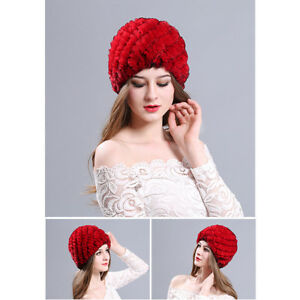c93211ace76 Women Lady Winter Warm Knitted Crochet Slouch Baggy Beret Beanie Hat ...