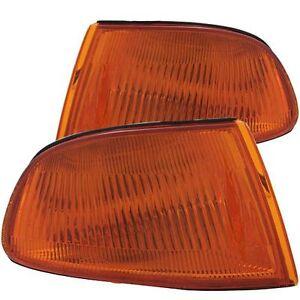 Anzo 521019 Corner Light Lamp Amber Vision for 1992-1995 Honda Civic 2/3DR